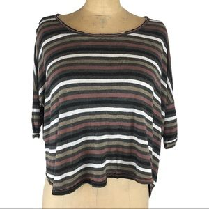 Wilfred Striped Relaxed Fit T-Shirt Size S